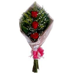 Englobados con peluches y arreglo floral