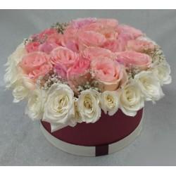 Arreglo Floral con Canasta