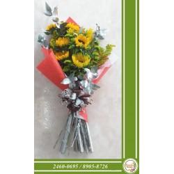 Arreglo Floral 2 corazones